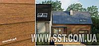 Фасадные панели, текстура золотой дуб (Производство Польша)
