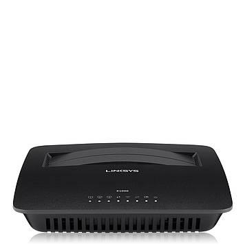 Роутер LINKSYS X1000 / N300 Wireless router with ADSL2+ modem,  роутер с ADSL2+ модемом