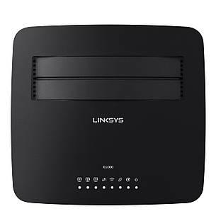 Роутер LINKSYS X1000 / N300 Wireless router with ADSL2+ modem,  роутер с ADSL2+ модемом, фото 2