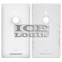 Задняя крышка батареи для мобильного телефона Nokia 925 Lumia, белая