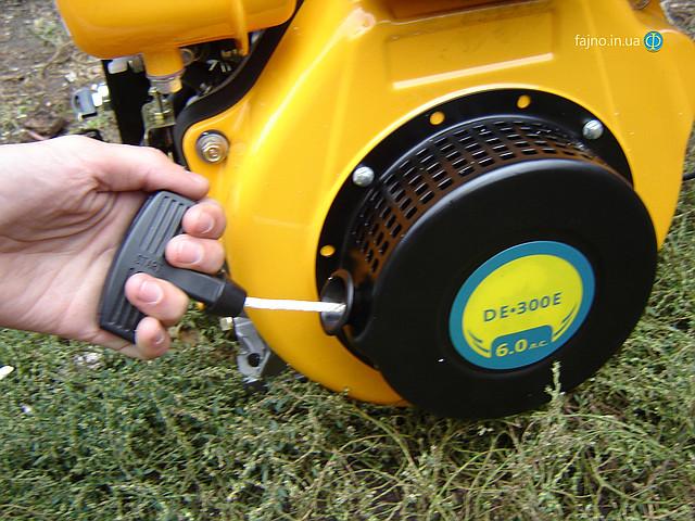 Sadko DE-300e дизельный двигатель для мотоблока с электрическим стартером фото 12