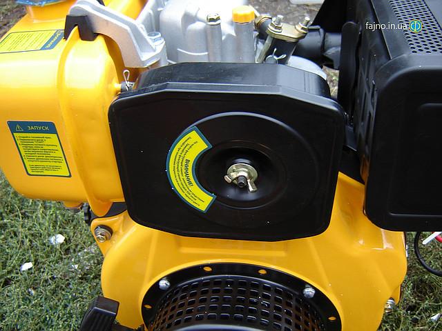 Sadko DE-300e дизельный двигатель для мотоблока с электрическим стартером