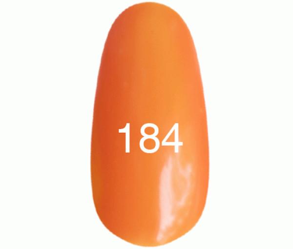 Kodi Professional Гель лак №184 Апельсиновый, эмаль  8мл