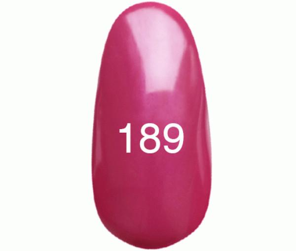 Kodi Professional Гель лак №189 Темно-розовый с перламутром  8мл