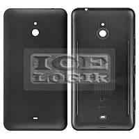 Задняя панель корпуса для мобильного телефона Nokia 1320 Lumia, черная, с боковыми кнопками