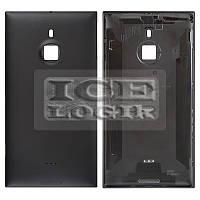 Задняя панель корпуса для мобильного телефона Nokia 1520 Lumia, черная