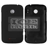 Задняя панель корпуса для мобильного телефона HTC A320 Desire C, черная