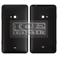 Задняя панель корпуса для мобильного телефона Nokia 625 Lumia, черная