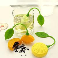 """Ситечко силиконовое для заварки чая """"Лимон"""", фото 1"""
