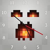 Часы настенные Майнкрафт Ashor 2001