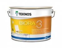 Краска для потолка Текнос Биора 3 (Teknos Biora 3), 9 л
