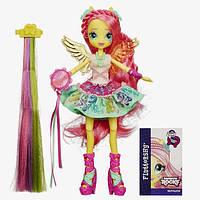 "My Little Pony Девочки эквестрии  Флаттершай ""Стильные прически"" Equestria Girls Rainbow Rocks Fluttershy Rockin' Hairstyle Doll"