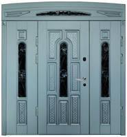Двери входные полуторные Модель 38