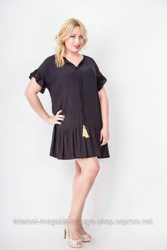 Платье туника женское батал