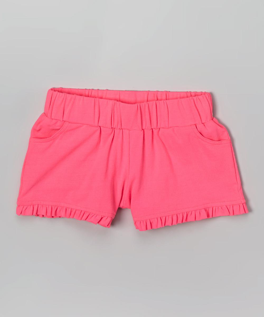Детские шорты с оборкой