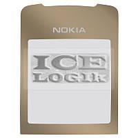 Стекло корпуса для мобильного телефона Nokia 8800 Sirocco, золотистое
