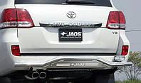 Защита заднего бампера JAOS Toyota Land Cruiser 200