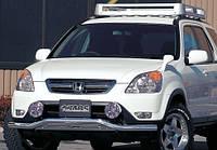 Защита переднего бампера JAOS  Honda CR-V 01+