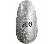 Kodi Professional Гель лак №208 Серебряный с перламутром  8мл