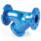 Фильтр для воды чугунный фланцевый Ду 250