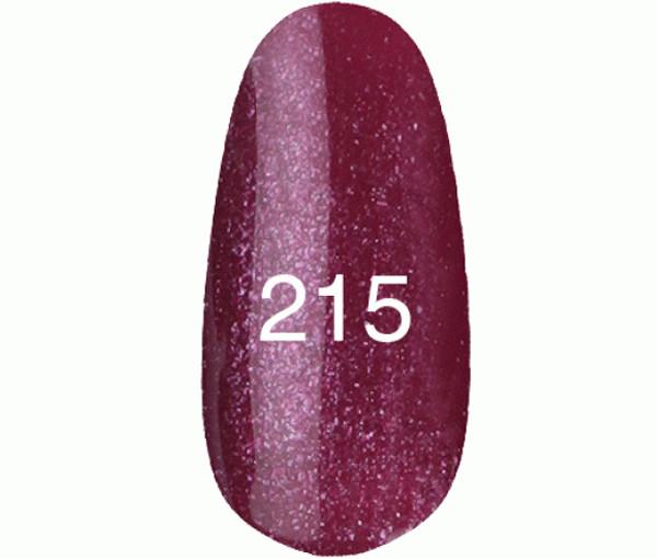 Kodi Professional Гель лак №215 Сияющий пурпурный с перламутром 8мл