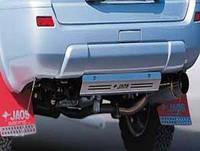 Задняя защита JAOS (пластина) Nissan X-Trail 00+