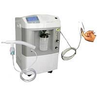Медицинский кислородный концентратор «МЕДИКА» JAY-5QW с опциями контроля концентрации кислорода, пульсоксиметр