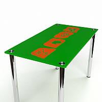 Стеклянный стол Полевой-2 (Бц-Стол ТМ)