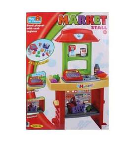 Игровой набор магазин 661-53 Магазин + касса, продукты, звуковые и музыкальные эффекты