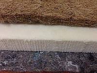 Латекс, кокосовая койра, термовойлок - комплект для ремонта диванов и матрасов 200х180