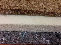 Латекс, кокосовая койра, термовойлок - комплект для ремонта диванов и матрасов