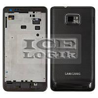 Корпус для мобильного телефона Samsung I9100 Galaxy S2, черный