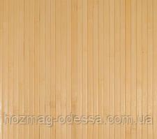 Бамбуковые обои светлые 12мм, ширина 90см.