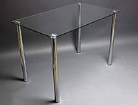 Стеклянный стол Прозрачный (Бц-Стол ТМ)