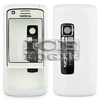 Корпус для мобильного телефона Nokia 6288, high-copy, белый