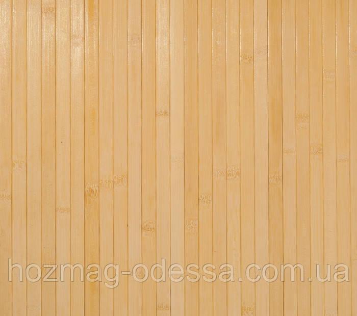 Бамбуковые обои светлые 17мм, ширина 90см.