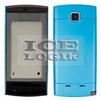 Корпус для мобильного телефона Nokia 5250, high-copy, синий