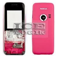 Корпус для мобильного телефона Nokia 3500c, high-copy, красный