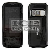 Корпус для мобильного телефона Nokia N79, черный, high-copy