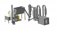 Линия по производству топливных брикетов ЛПТБ 200