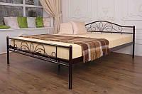 Кровать двуспальная металлическая Лара Люкс