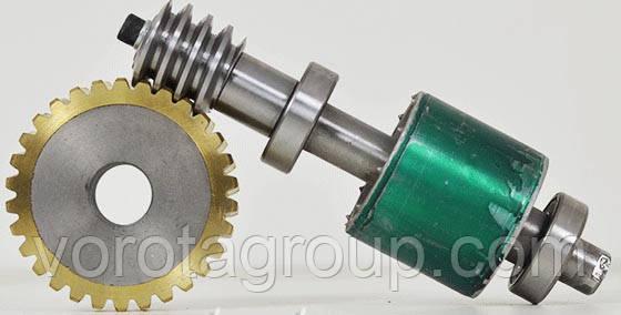 Мотор-редуктор с узлом разблокировки