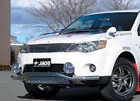 Защита переднего бампера JAOS Mitsubishi  Outlander 06+