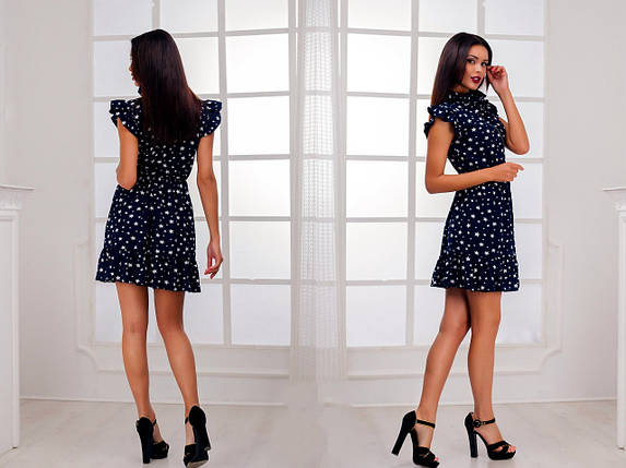 Короткое платье с принтом, фото 2