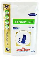 Royal Canin Urinary Feline 100 гр с курицей заболевания дистального отдела мочевыделительной системы