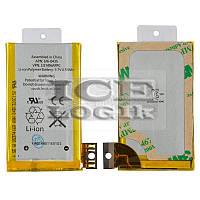 Аккумулятор для мобильного телефона Apple iPhone 3GS, Li-ion, 3,7 В, 1220 мАч, #616-0435/616-0433
