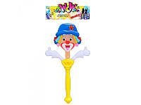 Хлопушка 36005 3 цвета, свет, в кульке, 40-19см