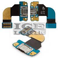 Шлейф для планшета Samsung T310 Galaxy Tab 3 8.0, коннектора зарядки, с компонентами
