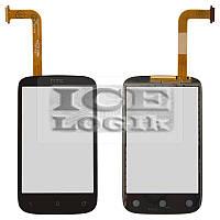 Сенсорный экран для мобильного телефона HTC A320 Desire C, черный