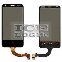 Сенсорный экран для мобильного телефона Nokia 620 Lumia, (версия прошивки 3046.xxxx.xxxx.xxxx (AMBER
